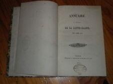 1842 ANNUAIRE  HAUTE MARNE RELIE