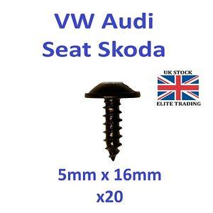20 X VW Audi Seat Skoda Torx Screws Splashguard Undertray Engine Cover