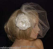 Birdcage Wedding Veil Weddng Veil Blusher Veil Crystals 31 Colors