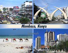 Africa - KENYA - MOMBASA - Travel Souvenir Fridge Magnet