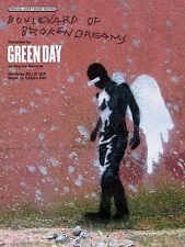Boulevard of Broken Dreams Sheet Music Piano Vocal Green Day NEW 000321698