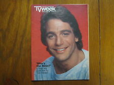 March 16, 1986 Chicago Tribune TV Week(TONY  DANZA/WHO'S THE BOSS/ALYSSA MILANO)