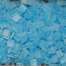 Miyuki Tila Perlen 5x5x1,9 mm matt tr. aqua AB   TL-148FR  5 gr  tila bead