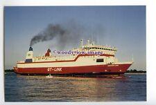 SIM0077 - GT-Link Ferry - Gedser Link , built 1976 - postcard