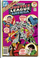 Justice League Of America 142 1st Series DC 1977 VF Superman Batman Aquaman