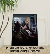 The Sopranos Classic TV Show Large CANVAS Art Print Gift A0 A1 A2 A3 A4