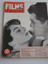 REVUE FIMS DIGEST , SELECTION DES MEILLEURS FILM ANNEE 1949 . INGRID BERGMAN .