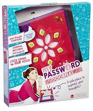 Girl Tech Voice Activated Password Journal Secret Private Diary Invisible Ink
