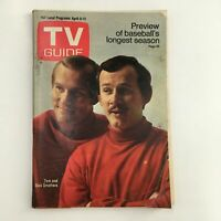 TV Guide Magazine April 5 1969 Tom & Dick Smothers, No Label Rochester NY