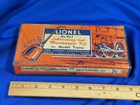 LIONEL TRAIN ORIGINAL ERA BOXED LUBRICATING & MAINTENANCE KIT NO.927 VTG