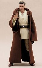 "MY-R-BN: FIGLot Brown Jedi Fabric Cloak Robe for 6"" Star Wars Figures Obi-wan"