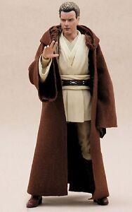 "MY-R-BN: FIGLot Brown Jedi Fabric Robe for 6"" SHF Star Wars Obi-wan (No figure)"