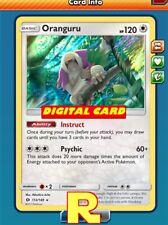 Oranguru (Draw 3) - for Pokemon TCG Online (DIGITAL ptcgo in Game Card)