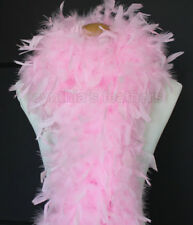 Candy Pink 80 Gram Chandelle Feather Boa Dance Party Halloween Costume