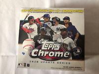 2020 Topps Chrome MLB Update Series Baseball Cards Mega Box Factory Sealed