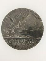 German WWI Karl Goetz Lusitania medallion – GERMAN ISSUE