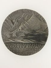 German WWI Karl Goetz Lusitania medallion – GERMAN ISSUE
