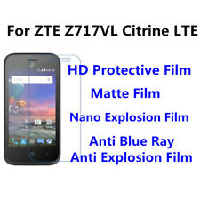 3pcs For ZTE Z717VL Citrine LTE Anti Blue Ray,Anti Fingerprint High Clear Film