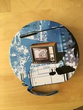 MTV Themed Blue CD Case