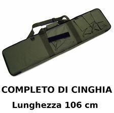 Borsa Fodero Custodia porta Fucile da assalto o carabina colore VERDE con Tasche