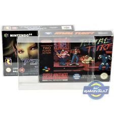 1 x Game Box Protector for N64 SNES Super Nintendo 64 0.4mm Plastic Display Case