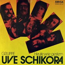 "7"" groupe uve SCHIKORA aujourd'hui comme hier/Le vent est fatigué Amiga 1975 comme neuf"