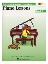 Hal Leonard Student Library Piano Lessons Learn Play Scales MUSIC BOOK 4 AUDIO