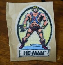"""VINTAGE 1980'S HE-MAN 2 1/2"""" IRON ON PATCH"""
