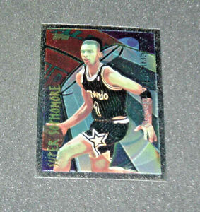 ANFERNEE HARDAWAY 1994-95 Finest SUPER SOPHOMORE Insert Card #2 ORLANDO MAGIC