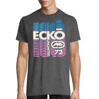 ECKO UNLTD. AUTHENTIC MEN'S CREW NECK SHORT SLEEVE GRAY T-SHIRT SIZE XL