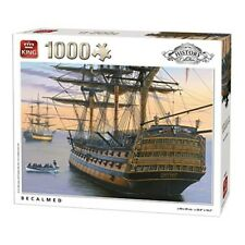 King 5620 Becalmed Jigsaw Puzzle (1000-piece) - 1000 Piece Kng0 Historypc