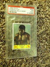 1968 Panini Cassius Clay Muhammad Ali PSA 7 Campioni Dello Sport Near Mint #308