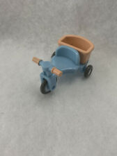 Sylvanian Families Baby House  tricycle japan Vintage Peach Blue