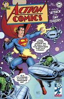 SUPERMAN DC ACTION COMICS #1000 JUNE 2018 1950'S DAVE GIBBONS VARIANT COVER