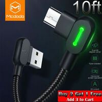 Fast Charging Micro USB Cable Android Charger L Shape Reversible Usb Unbreakable