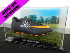 ✺Signed✺ STEVE ROACH Football Boot PROOF COA Wests Tigers Balmain 2018 Jersey