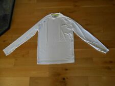 """UNDER ARMOUR WHITE """"LOOSE FIT"""" LONG SLEEVE TOP SIZE SMALL"""
