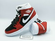 Brand New Limited Nike Air Jordan 1 Mid Red Black WMNS Limited Chicago 2020 RARE