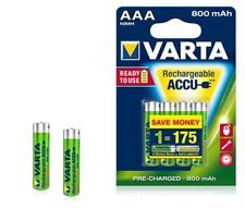 4x BATTERIA AAA 800mah VARTA READY 2use hr03 56703 Micro ACCU