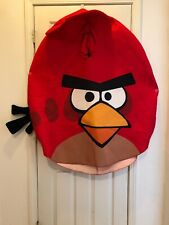 Red angry bird costume  Size Adult