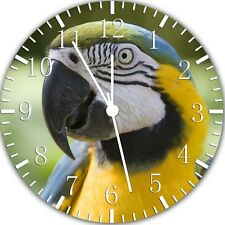 Beautiful Parrot Frameless Borderless Wall Clock Nice For Gifts or Decor Z88