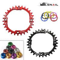 SNAIL 30T AM XC MTB Bike Chainring BCD104mm Narrow-Wide Round Single Chainwheel
