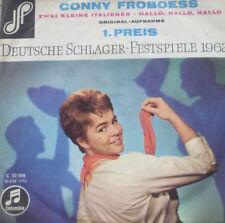 """7"""" 1962 KULT VG++ CONNY FROBOESS Zwei kleine Italiener"""
