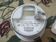 Sunrun Solar Energy Digital Watthour Electric Smart Meter Cl 200 240v 3w Fm2s