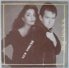 """NEW FORCES Kiss me RARE 7"""" 1989 funk/pop BELGIUM"""