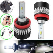 2 xAuto Car LED Headlights IP65 H8/11 HID Bulb 6000K 9000LM 48W Xenon Lights Kit