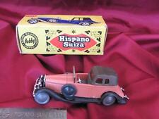 VINTAGE HOBBY ANTIQUE PLASTIC CAR – 1934 HISPANO SUIZA w/ORIGINAL BOX