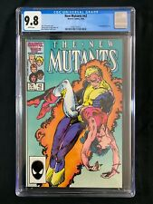 New Mutants #42 CGC 9.8 (1986) - Cannonball solo story