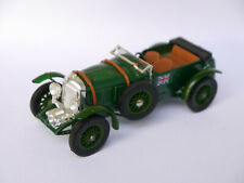 1930 4 1/2 Litre Supercharged Bentley grün verde vert green, Matchbox MOY Y-2!