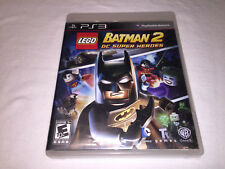 LEGO Batman 2: DC Super Heroes (Sony PlayStation 3, 2012) PS3 Complete Vr Nice!